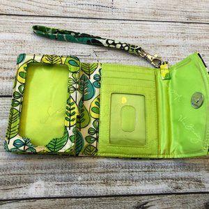 Vera Bradley Lime's Up Super Smart Wristlet Wallet